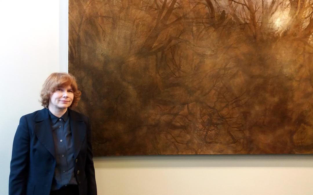 Elina Merenmiehen maalaus ja 130 muuta talletusteosta Oikeusministeriön tiloihin