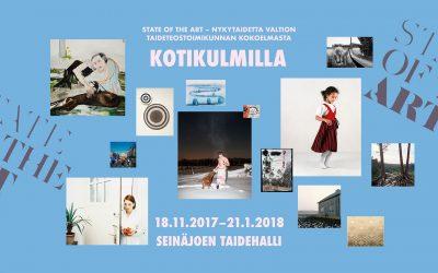 'Kotikulmilla' aukeaa Seinäjoen taidehallissa