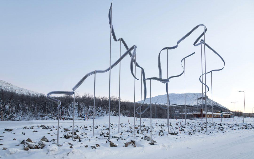Yleinen taidekilpailu Kilpisjärven tullitoimipaikalle on ratkennut