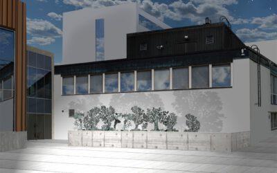 Kreikan mytologioihin viittaava runollinen teos voitti taidekutsukilpailun THL:n K-uudisrakennuksen yhteyteen tulevasta ulkotaideteoksesta